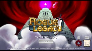 Rogue Legacy Title